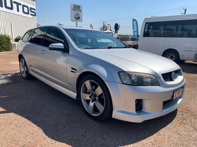 Used Holden Commodore VE MY09.5 SS V Sportwagon, 2009 Holden Commodore VE MY09.5 SS V Sportwagon Silver 6 Speed Sports Automatic Wagon
