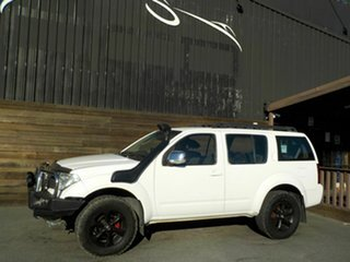 2008 Nissan Pathfinder R51 MY08 ST-L White 6 Speed Manual Wagon