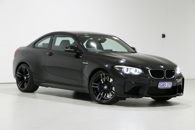 Used BMW M2 F87 MY18 Pure, 2018 BMW M2 F87 MY18 Pure Black 6 Speed Manual Coupe