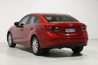 2016 Mazda 3 BM MY15 Maxx Soul Red 6 Speed Automatic Sedan