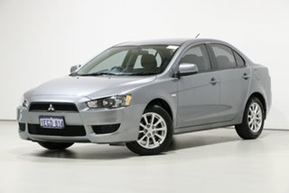 2013 Mitsubishi Lancer CJ MY13 ES Silver 6 Speed CVT Auto Sequential Sedan.