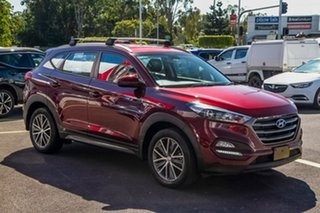 2015 Hyundai Tucson TL Active X 2WD Burgundy Red 6 Speed Sports Automatic Wagon.