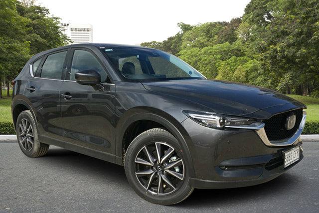 Demo Mazda CX-5 KF4WLA GT SKYACTIV-Drive i-ACTIV AWD, 2020 Mazda CX-5 KF4WLA GT SKYACTIV-Drive i-ACTIV AWD Machine Grey 6 Speed Sports Automatic Wagon