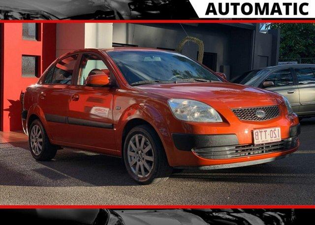 Used Kia Rio JB , 2006 Kia Rio JB Metallic Orange 4 Speed Automatic Sedan