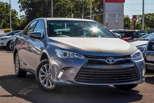 Used Toyota Camry ASV50R Altise, 2017 Toyota Camry ASV50R Altise Ocean Mist 6 Speed Sports Automatic Sedan