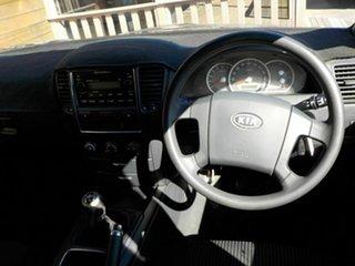 2007 Kia Sorento BL MY08 LX Blue 5 Speed Manual Wagon