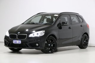 2014 BMW 225i F45 Active Tourer Sport Line Black 8 Speed Automatic Wagon.