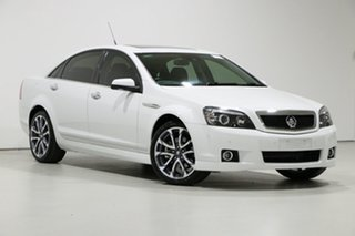 2016 Holden Caprice WN MY16 V White 6 Speed Auto Active Sequential Sedan.