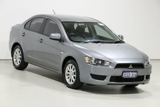 2013 Mitsubishi Lancer CJ MY13 ES Silver 6 Speed CVT Auto Sequential Sedan