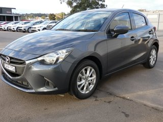 2016 Mazda 2 DJ2HAA Maxx SKYACTIV-Drive Graphite 6 Speed Sports Automatic Hatchback.