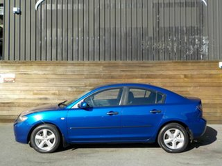2008 Mazda 3 BK10F2 MY08 Neo Sport Blue 5 Speed Manual Sedan