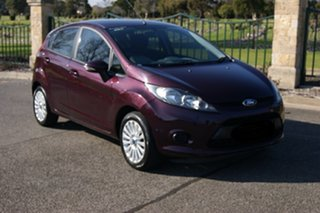 2011 Ford Fiesta WT CL Burgundy 6 Speed Automatic Hatchback.