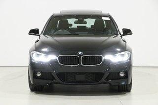 2018 BMW 320d F30 LCI M Sport Black Sapphire 8 Speed Automatic Sedan.