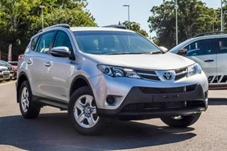 2015 Toyota RAV4 ALA49R MY14 GX AWD Silver 6 Speed Sports Automatic Wagon.