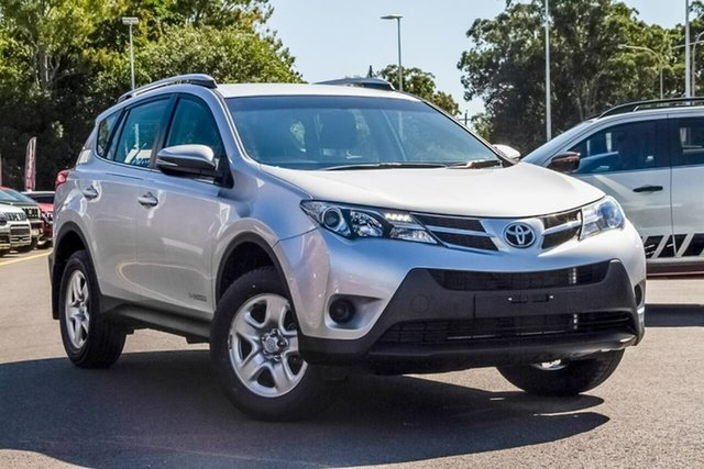 Used Toyota RAV4 ALA49R MY14 GX AWD, 2015 Toyota RAV4 ALA49R MY14 GX AWD Silver 6 Speed Sports Automatic Wagon
