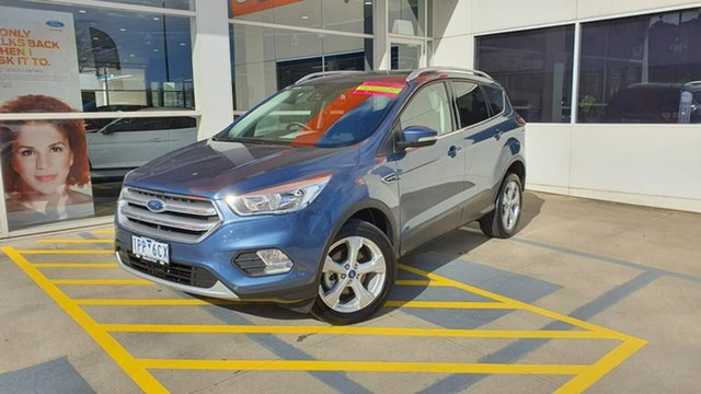 Used Ford Escape ZG 2019.25MY Trend 2WD, 2018 Ford Escape ZG 2019.25MY Trend 2WD Blue 6 Speed Sports Automatic Wagon