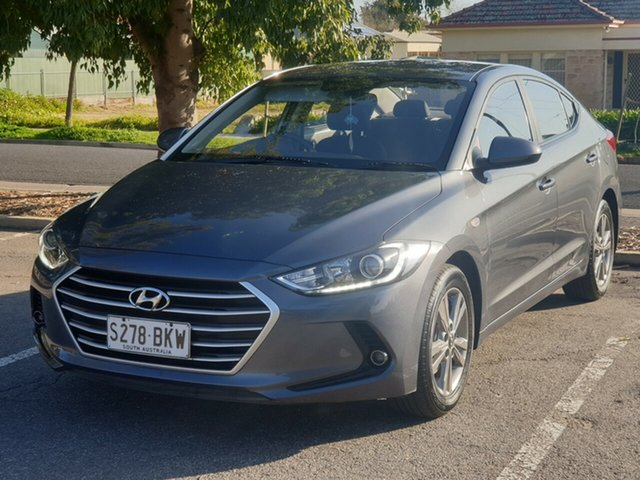Used Hyundai Elantra AD MY17 Active, 2016 Hyundai Elantra AD MY17 Active Grey 6 Speed Sports Automatic Sedan
