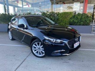 2016 Mazda 3 SP25 Black 6 Speed Manual Hatchback.