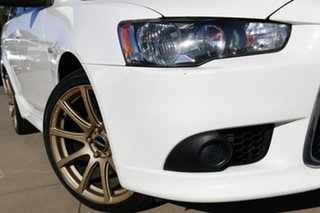 2013 Mitsubishi Lancer CJ MY13 ES White 5 Speed Manual Sedan.
