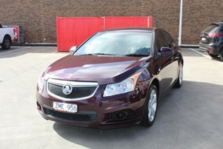 2012 Holden Cruze JH MY12 Equipe Maroon 6 Speed Automatic Sedan.