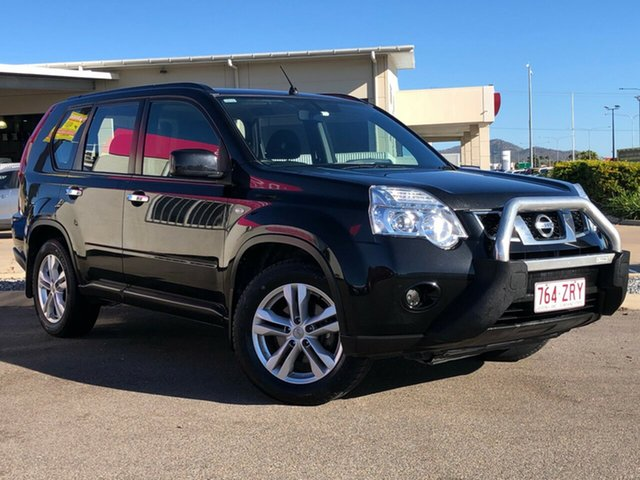Used Nissan X-Trail T31 Series IV ST, 2012 Nissan X-Trail T31 Series IV ST Black 6 Speed Manual Wagon