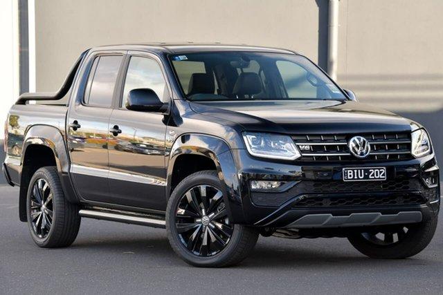 Used Volkswagen Amarok 2H MY20 TDI580 4MOTION Perm Highline Black, 2020 Volkswagen Amarok 2H MY20 TDI580 4MOTION Perm Highline Black Black 8 Speed Automatic Utility