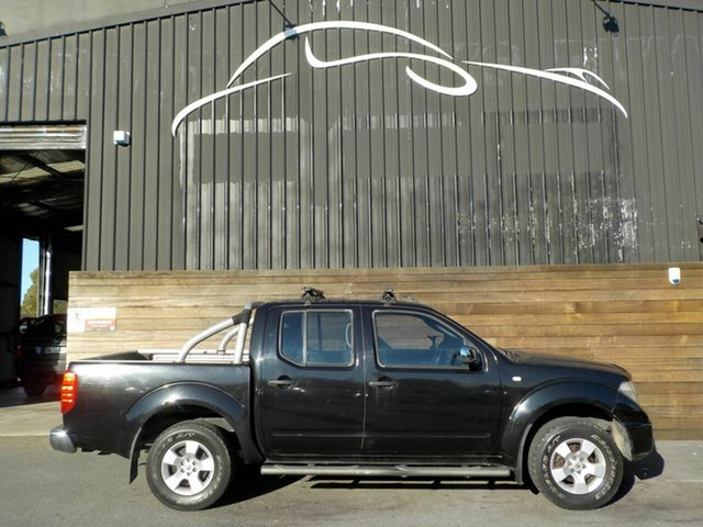 Used Nissan Navara D40 ST-X, 2006 Nissan Navara D40 ST-X Black 6 Speed Manual Utility