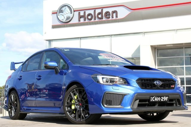 Used Subaru WRX V1 MY18 STI AWD spec.R, 2018 Subaru WRX V1 MY18 STI AWD spec.R WR Blue 6 Speed Manual Sedan
