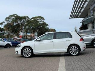 2020 Volkswagen Golf 7.5 MY20 110TSI DSG Comfortline White 7 Speed Sports Automatic Dual Clutch