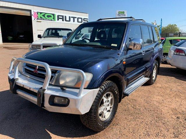 Used Mitsubishi Pajero NM MY2002 GLS, 2002 Mitsubishi Pajero NM MY2002 GLS Blue 5 Speed Sports Automatic Wagon