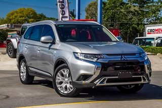 2019 Mitsubishi Outlander ZL MY20 ES 2WD ADAS Silver 6 Speed Constant Variable Wagon.