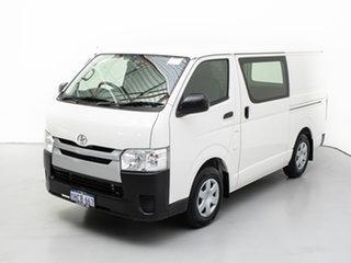 2015 Toyota HiAce TRH201R MY15 LWB White 6 Speed Automatic Van