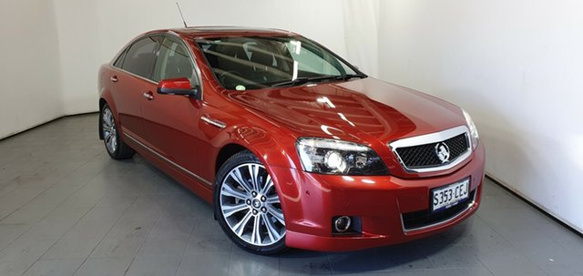 Used Holden Caprice WN MY15 V, 2015 Holden Caprice WN MY15 V Red 6 Speed Sports Automatic Sedan