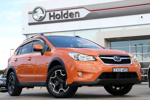 Used Subaru XV G4X MY14 2.0i-S Lineartronic AWD, 2014 Subaru XV G4X MY14 2.0i-S Lineartronic AWD Tangerine Orange 6 Speed Constant Variable Wagon