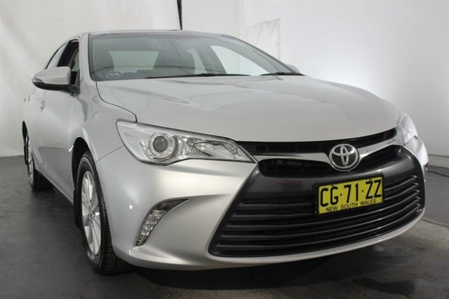 Used Toyota Camry ASV50R Altise, 2016 Toyota Camry ASV50R Altise Silver 6 Speed Sports Automatic Sedan