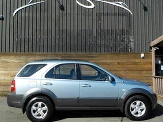 2007 Kia Sorento BL MY08 LX Blue 5 Speed Manual Wagon.