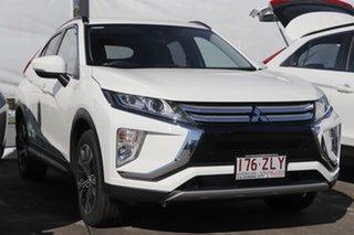 2019 Mitsubishi Eclipse Cross YA MY20 Black Edition (2WD) White 8 Speed Automatic Wagon.