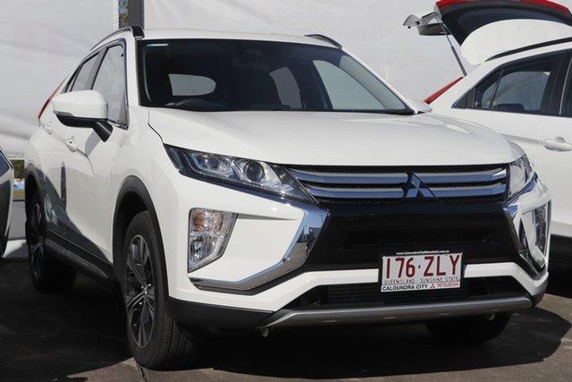 Demo Mitsubishi Eclipse Cross YA MY20 Black Edition (2WD), 2019 Mitsubishi Eclipse Cross YA MY20 Black Edition (2WD) White 8 Speed Automatic Wagon