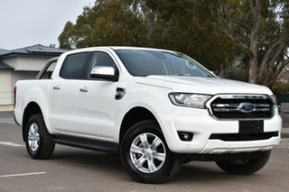 2019 Ford Ranger PX MkIII 2019.75MY XLT Pick-up Double Cab White 6 Speed Sports Automatic Utility.