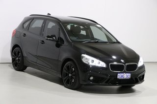 2014 BMW 225i F45 Active Tourer Sport Line Black 8 Speed Automatic Wagon