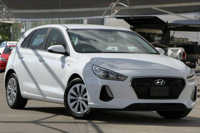Used Hyundai i30 PD MY19 Go, 2019 Hyundai i30 PD MY19 Go White 6 Speed Sports Automatic Hatchback