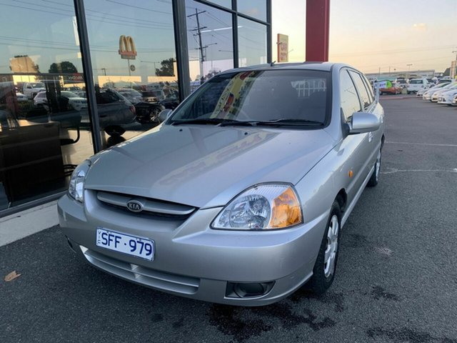 Used Kia Rio BC , 2003 Kia Rio BC Silver 5 Speed Manual Hatchback