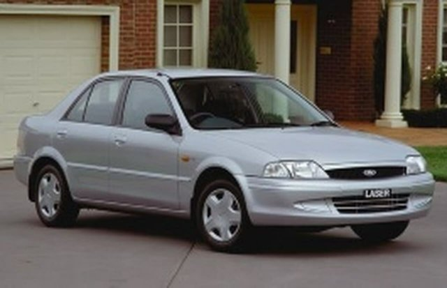 Used Ford Laser KN LXI, 2001 Ford Laser KN LXI Silver 5 Speed Manual Sedan
