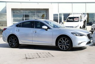 2016 Mazda 6 GL1021 GT SKYACTIV-Drive Silver 6 Speed Sports Automatic Sedan.