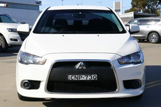 2013 Mitsubishi Lancer CJ MY13 ES White 5 Speed Manual Sedan