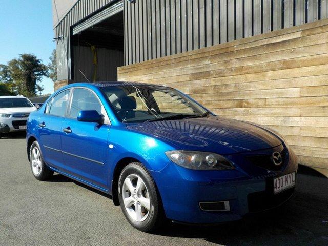 Used Mazda 3 BK10F2 MY08 Neo Sport, 2008 Mazda 3 BK10F2 MY08 Neo Sport Blue 5 Speed Manual Sedan