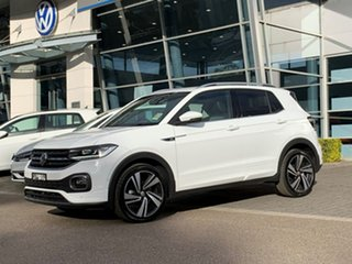 2020 Volkswagen T-Cross C1 MY20 85TSI DSG FWD Style White 7 Speed Sports Automatic Dual Clutch Wagon.