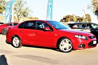 2012 Ford Falcon FG MkII XR6 Red 6 Speed Sports Automatic Sedan.