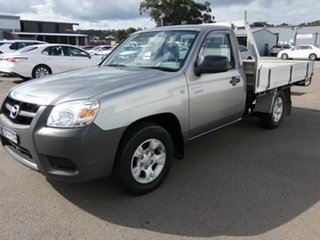 2010 Mazda BT-50 UNY0W4 DX 4x2 Grey 5 Speed Manual Cab Chassis.