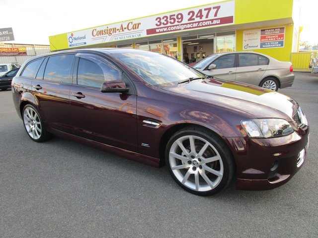 Used Holden Commodore VE II MY12.5 SV6 Sportwagon Z Series, 2013 Holden Commodore VE II MY12.5 SV6 Sportwagon Z Series Burgundy 6 Speed Sports Automatic Wagon